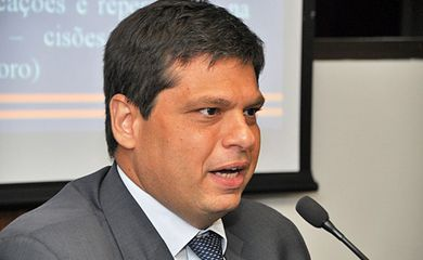Rio de Janeiro - O ex-procurador da República Marcello Miller presta depoimento na sede da Procuradoria Regional da República  no Rio de Janeiro (Alex Lanza/MPMG)