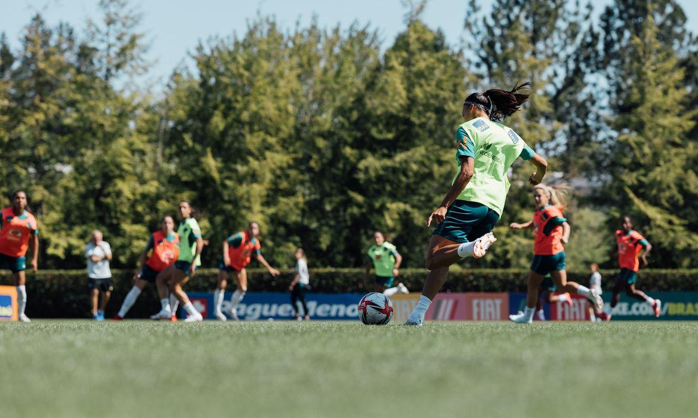 seleção feminina, futebol, treino, seleção olímpica