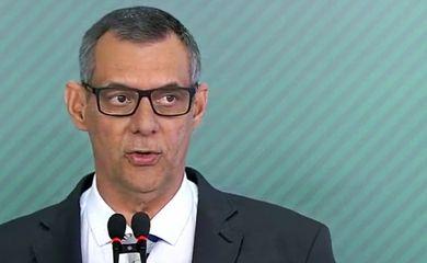 Porta-Voz, Otávio Rêgo Barros, fala com a imprensa no Palácio do Planalto