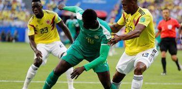 Senegal e Colômbia buscam vaga pelo grupo H