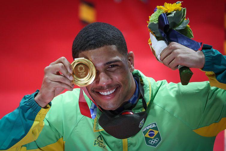 Hebert Conceição - ouro - boxe - peso-médio (75 Kg) - Tóquio 2020 - Olimpíada