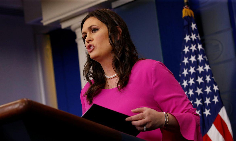 Porta-voz da Casa Branca, Sarah Huckabee Sanders
