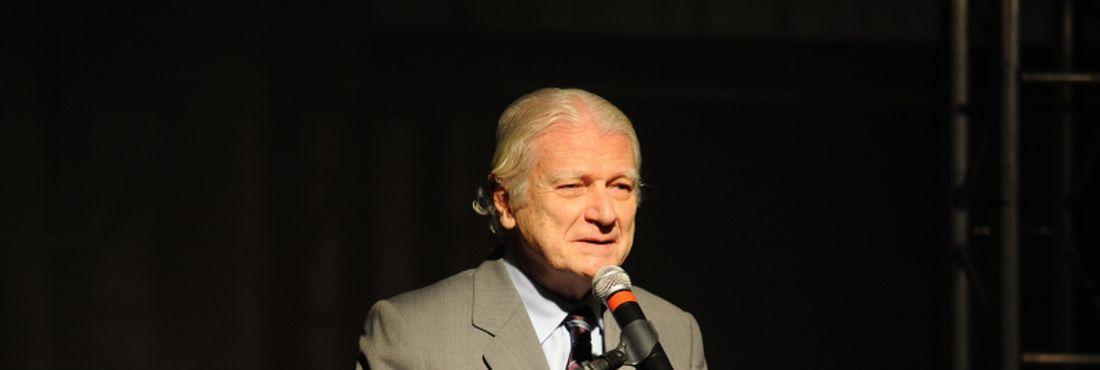 Presidente da ABL, Geraldo Holanda Cavalcanti