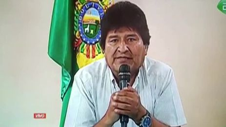 BOLIVIA-ELECTION_MORALES_RESIGNATION