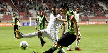 América-MG 0 X 0 Fluminense