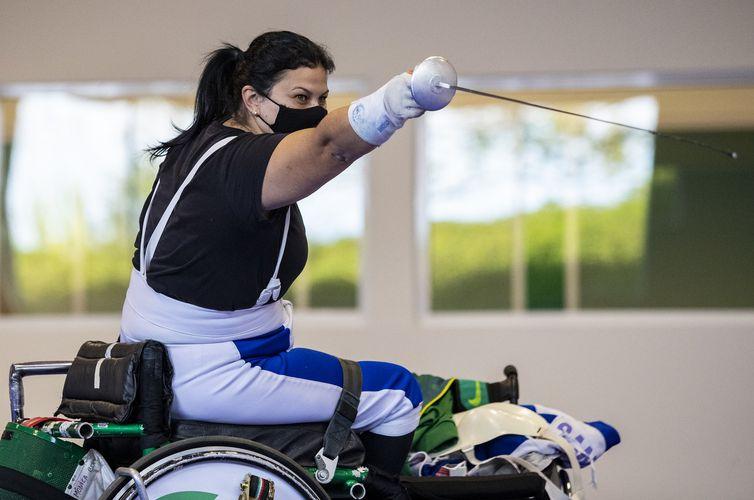 Monica Santos, esgrima em cadeira de rodas - Paralimpíada - Tóquio 2020