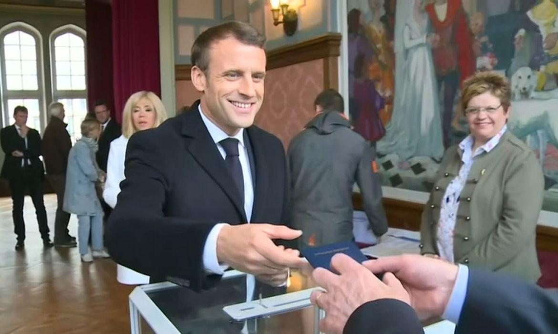 Emmanuel Macron, União Européia, Eleições
