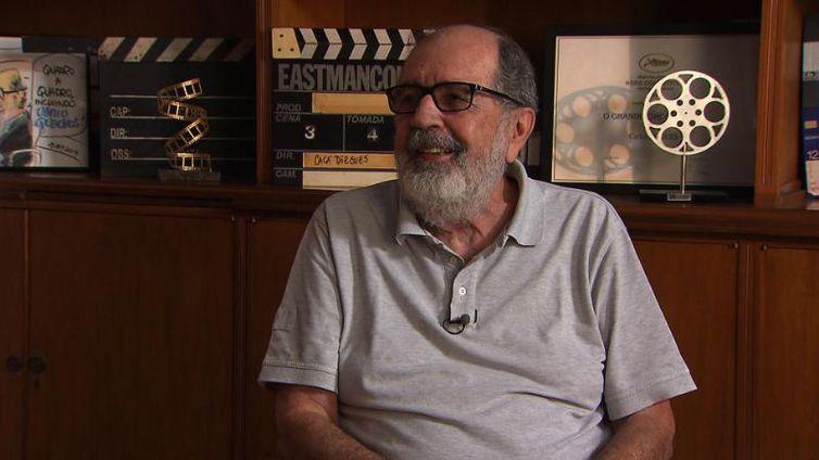 Cacá Diegues foi eleito imortal da Academia Brasileira de Letras em agosto de 2018