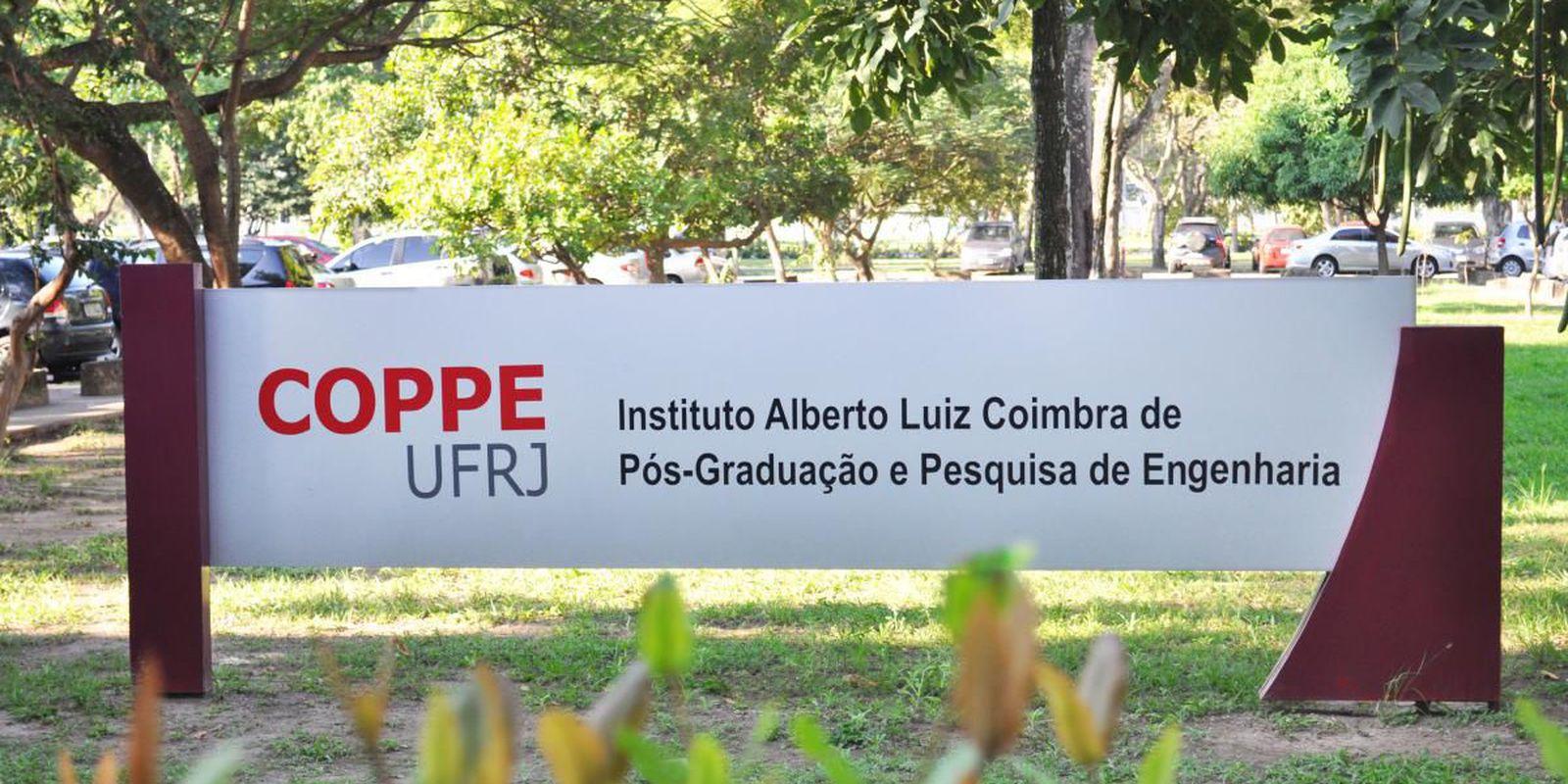 Coppe/UFRJ – Instituto Alberto Luiz Coimbra de Pós-Graduação e Pesquisa de Engenharia, da Universidade Federal do Rio de Janeiro.