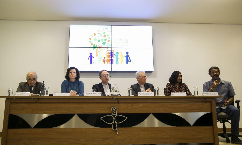 A Conferência Nacional dos Bispos do Brasil (CNBB) lança a Campanha da Fraternidade 2019 com o tema