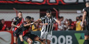 Atlético-MG perde invencibilidade de 18 jogos no Brasileirão
