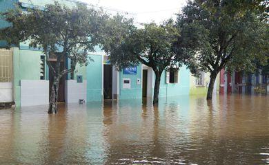 Enchente no Rio Grande do Sul