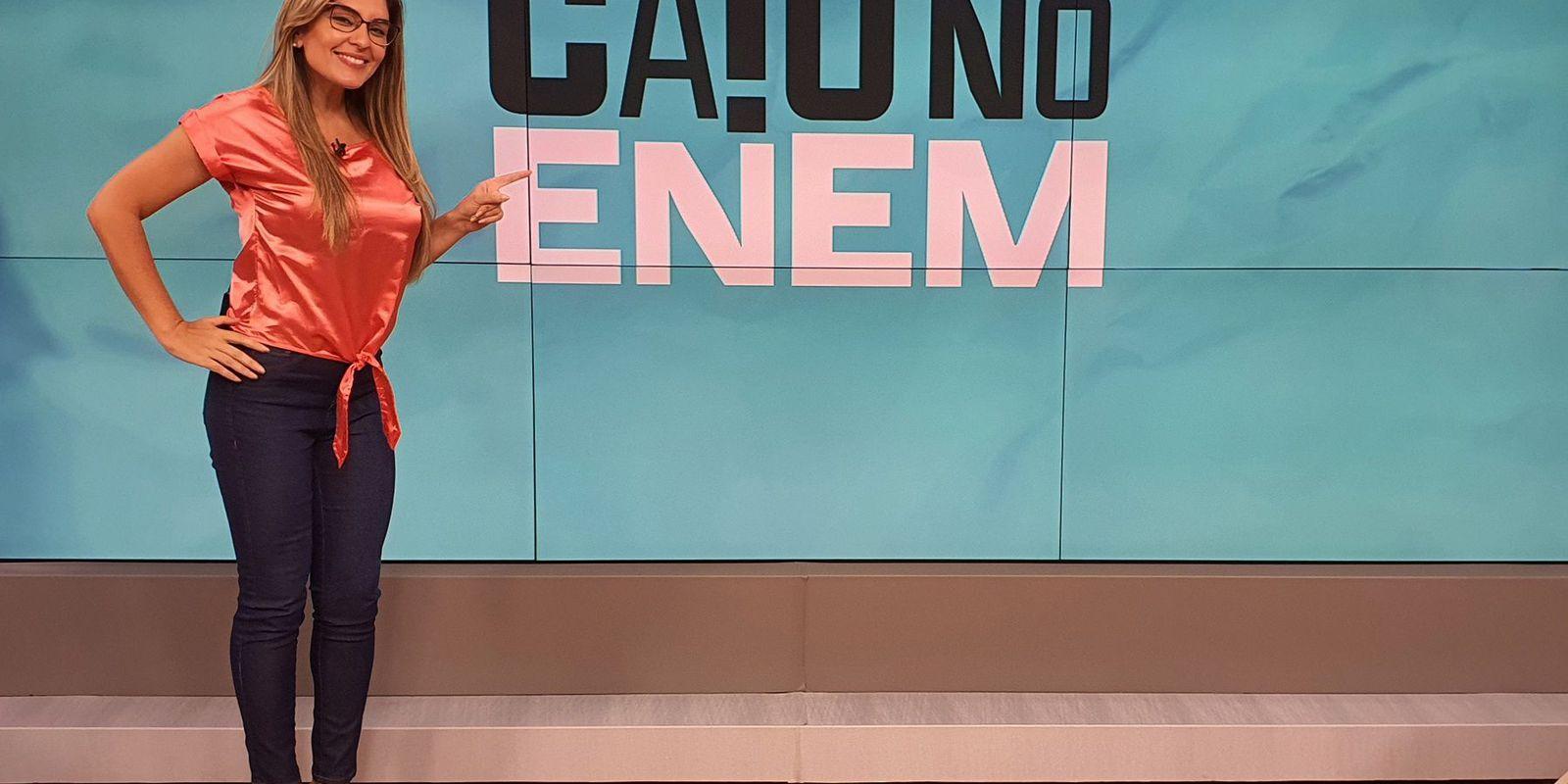 Caiu no Enem, da TV Brasil, fará correções ao vivo das provas do exame de 2020.