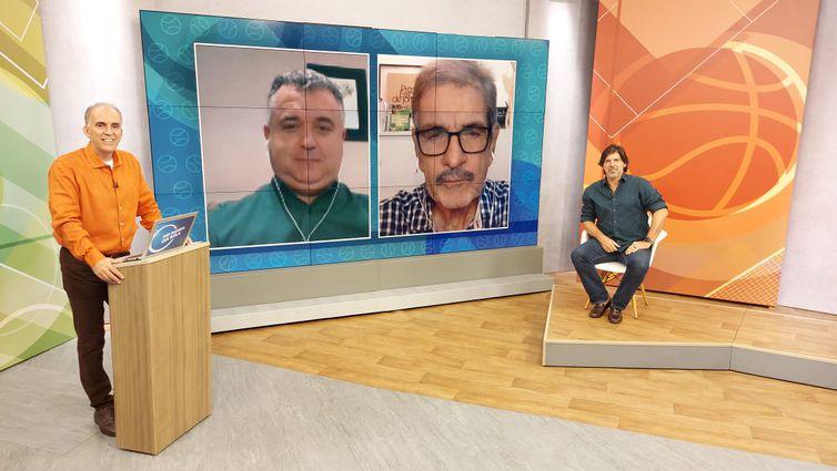 Bocage, Ademar, Marcio e Gottardo, em 16.05.21