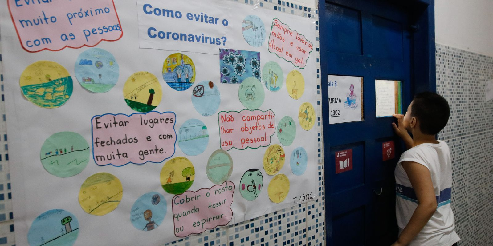 Prevenção ao novo coronavírus Covid-19 nas escolas