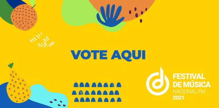 Banner vote aqui Festival Nacional FM 2021 - destaque primário