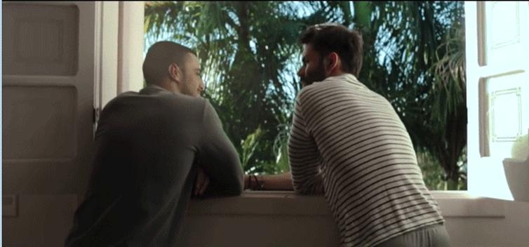 Cena do clipe 'Pra sempre', do cantor Thiago Di Melo