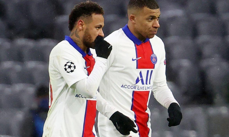 Neymar, Mbappé, PSG, Bayern, liga dos campeões