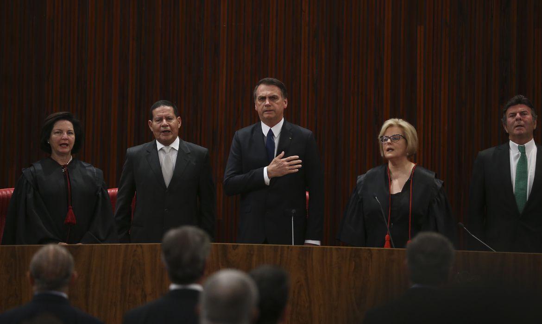 Cerimônia de diplomação do presidente eleito, Jair Bolsonaro, no Tribunal Superior Eleitoral (TSE).