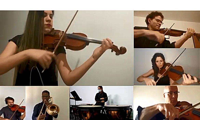 Orquestra Sinfônica do Teatro Nacional Claudio Santoro  Maestro Claudio Cohen