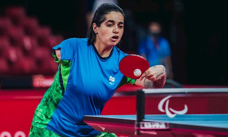 Bruna Alexandre garante bronze no tênis de mesa ao se classificar à semi - Paralimpíada - Tóquio 2020