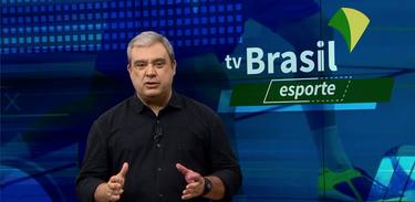 Paulo Garritano apresenta o TV Brasil Esporte