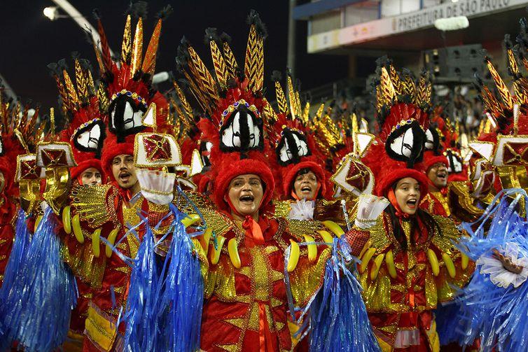 São Paulo - Desfile da Escola de Samba Tom Maior durante o primeiro dia do carnaval paulista (Divulgação/LigaSP)