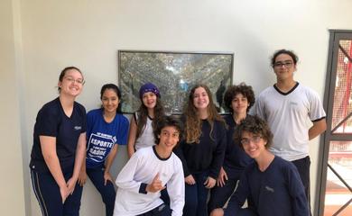 Alunos do Colégio Logosófico, em Brasília, vão representar o Brasil na segunda etapa da Olimpíada Internacional de Matemática sem Fronteiras (OIMSF), no Japão.