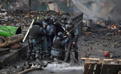 Polícia Ucrânia