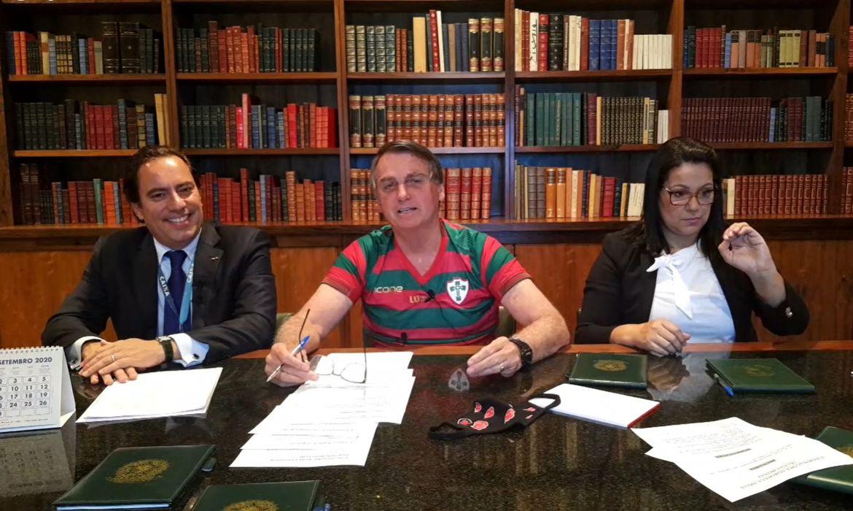 Live da semana Presidente Jair Bolsonaro