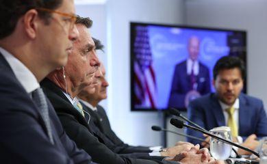 Presidente Jair Bolsonaro participa da Cúpula de Líderes sobre o Clima (videoconferência)