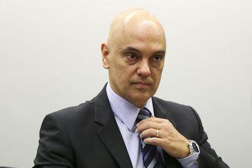 Brasília - O ministro do Supremo Tribunal Federal Alexandre de Moraes durante audiência pública na Câmara sobre o projeto do Código de Processo Penal (Marcelo Camargo/Agência Brasil)