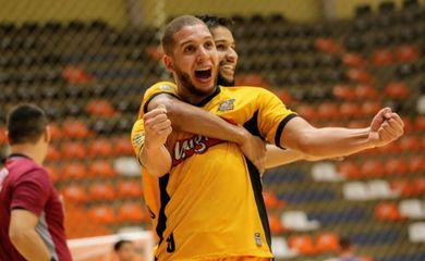 Magnus goleia Tubarão SC no primeiro duelo da semifinal da Liga Nacional de Futsal - LNF - 6 a 0
