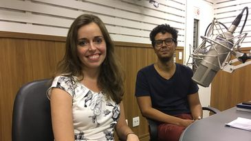 Entrevista da apresentadora Isabela Azevedo com o economista Alexandre Andrada