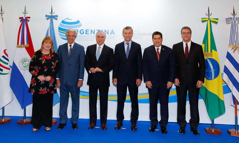 Buenos Aires (Argentina) - Presidente Michel Temer participa da 11ª Reunião Ministerial da Organização Mundial do Comércio (Marcos Corrêa/PR)
