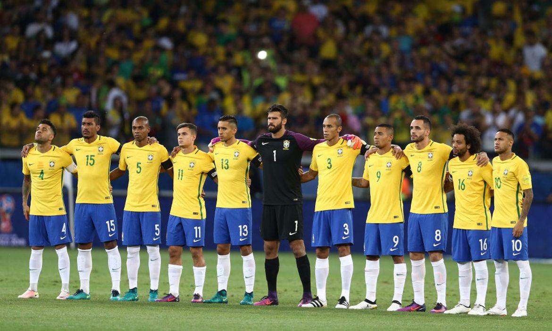 Já classificada nas eliminatórias para a Copa do Mundo 2018, a seleção brasileira de futebol enfrenta o Equador - Foto Lucas Figueiredo/CBF
