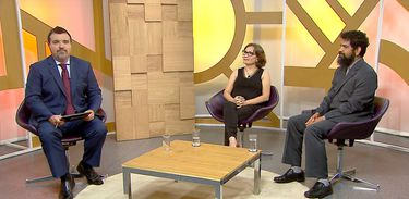 Estevão Damázio recebe Rafiza Varão e Paulo Rená no Diálogo Brasil