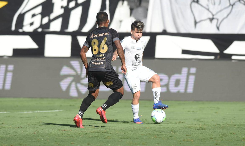Santos, Ceará, Copa do Brasil, oitavas, jogo de ida na Vila Belmiro