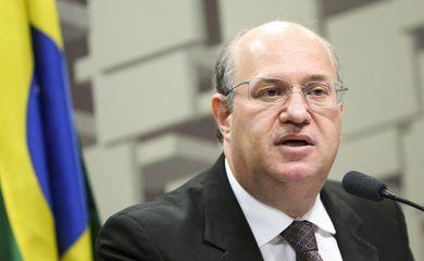 Brasília - O presidente do Banco Central, Ilan  Goldfajn, durante audiência pública na Comissão de Assuntos Econômicos do Senado (Marcelo Camargo/Agência Brasil)