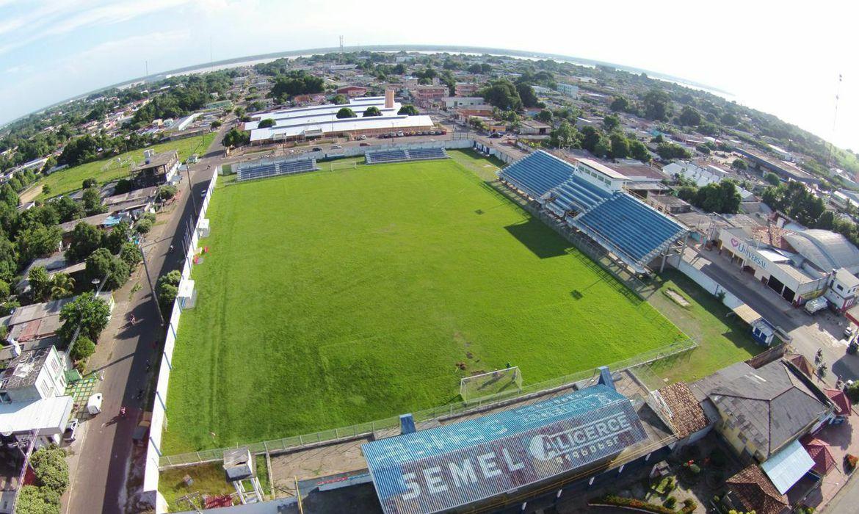 Estádio Floro de Mendonca em Itacoatiara - AM