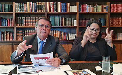 Live de toda quinta-feira - Presidente Jair Bolsonaro - 28/10/2021.