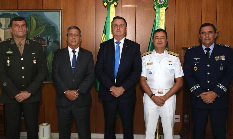 Novos comandantes das Forças Armadas do Brasil.