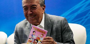 Maurício de Sousa e Embrapa lançam quadrinhos sobre consumo sustentável