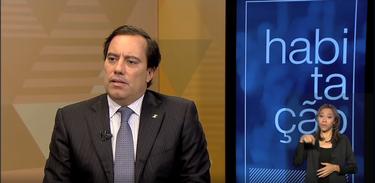 Presidente da CEF, Pedro Guimarães, é entrevistado no Brasil em Pauta