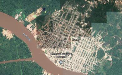 Imagens do Satélite do Google Earth.