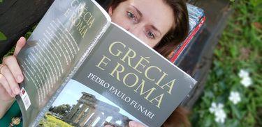 "Livro ""Grécia e Roma"", de Pedro Paulo Funari"