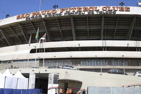 Fachada do Estádio do Morumbi