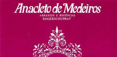 Anacleto de Medeiros - Capa de Disco