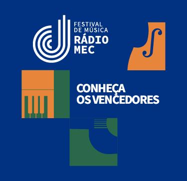 Banner especial - vencedores Festival Rádio MEC 2021