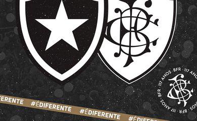 Botafogo completa 117 anos - escudos - Série B